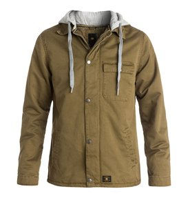 Hoodium - Hooded Twill Deck Jacket  EDYJK03031