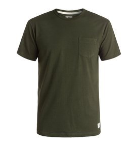 BASIC POCKET TEE Brown EDYKT03291