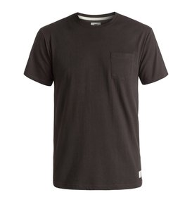 BASIC POCKET TEE Black EDYKT03291