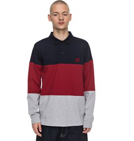 94 Heritage - Long Sleeve Polo Shirt  EDYKT03353