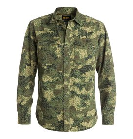 Mastoid - Dpm Camo Long Sleeve Over-Shirt  EDYWT03041