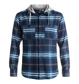 Hood Up - Long Sleeve Flannel Shirt  EDYWT03042