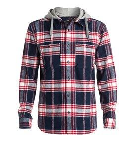 Hood Up - Long Sleeve Flannel Shirt  EDYWT03042
