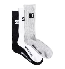 DC Shoes - 3 pack of crew socks  PS047560B