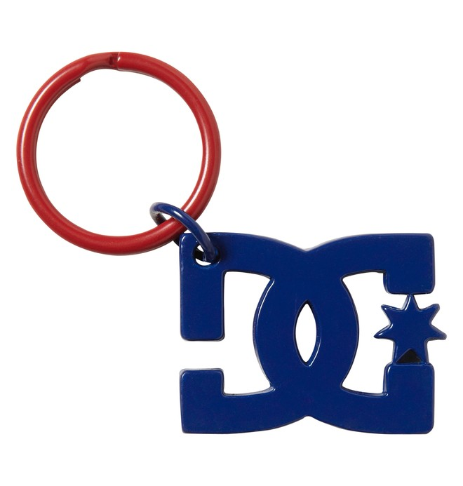 0 Star Keychain  105328 DC Shoes