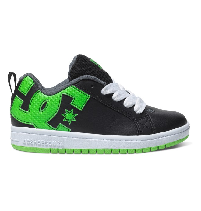 0 Boy's 4-7 Court Graffik Shoes Black 300504A DC Shoes