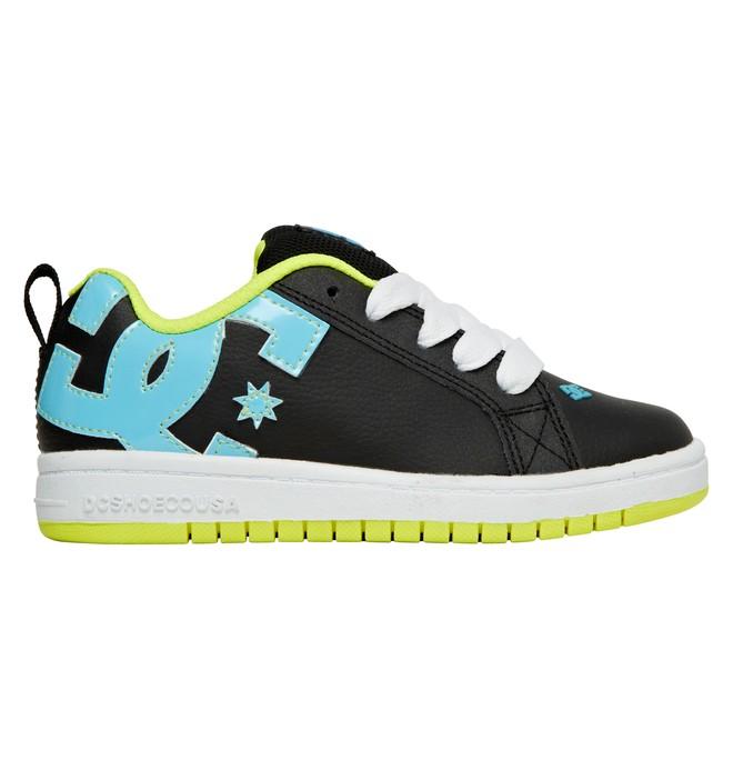 0 Boy's 4-7 Court Graffik Shoes Black 300504A DC Shoes
