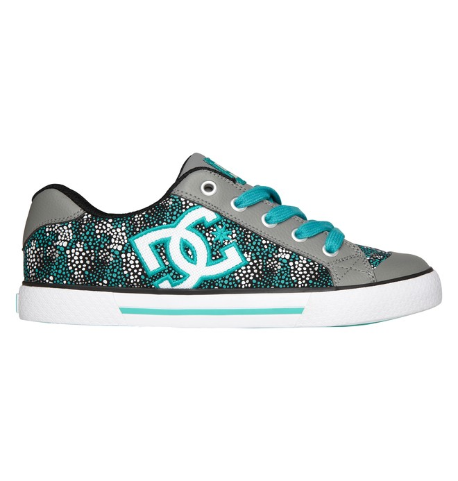 0 Women's Chelsea Shoes Grey 300876 DC Shoes