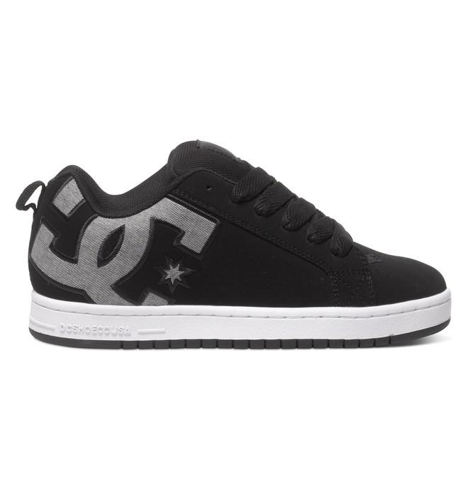 0 Men's Court Graffik SE Shoes Black 300927 DC Shoes