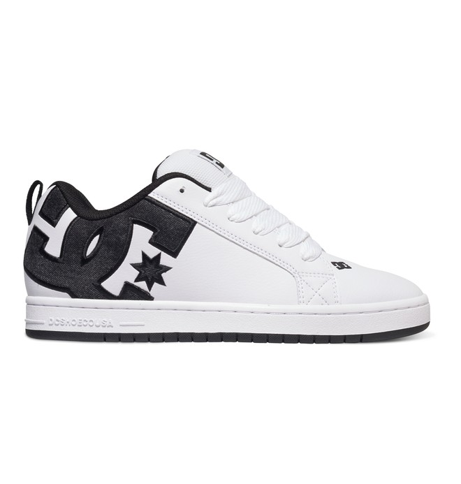 0 Men's Court Graffik SE Shoes White 300927 DC Shoes