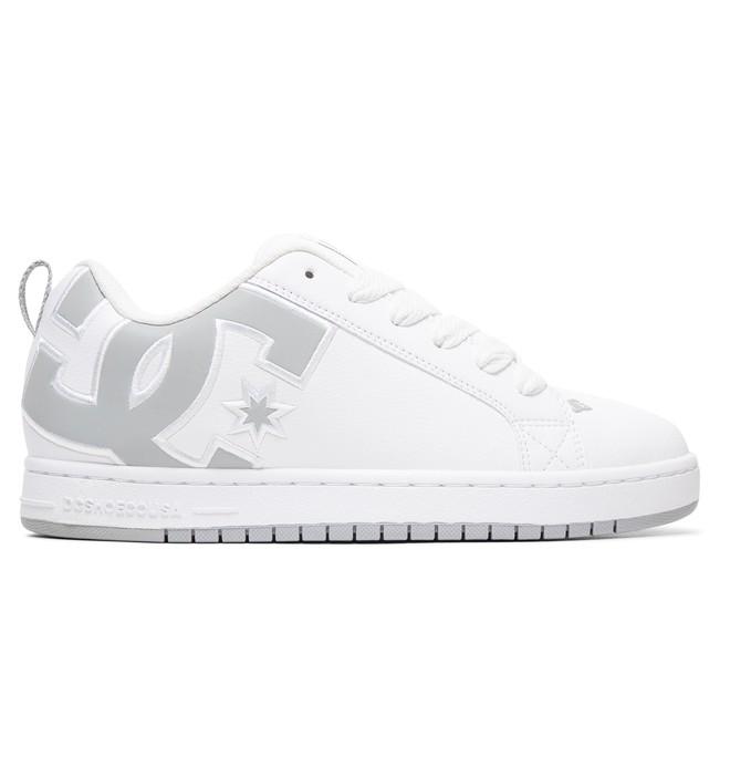 0 Men's Court Graffik SE Shoes White 300927 DC Shoes
