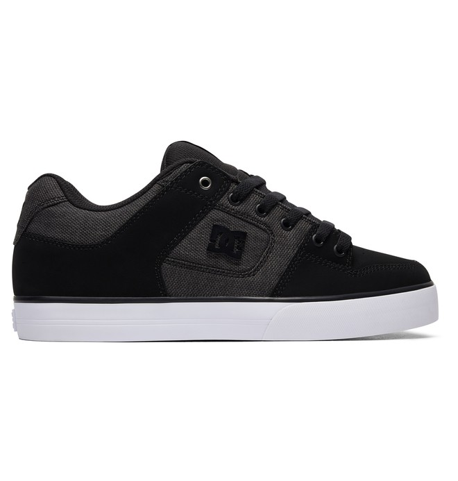 0 Men's Pure SE Shoes Black 301024 DC Shoes