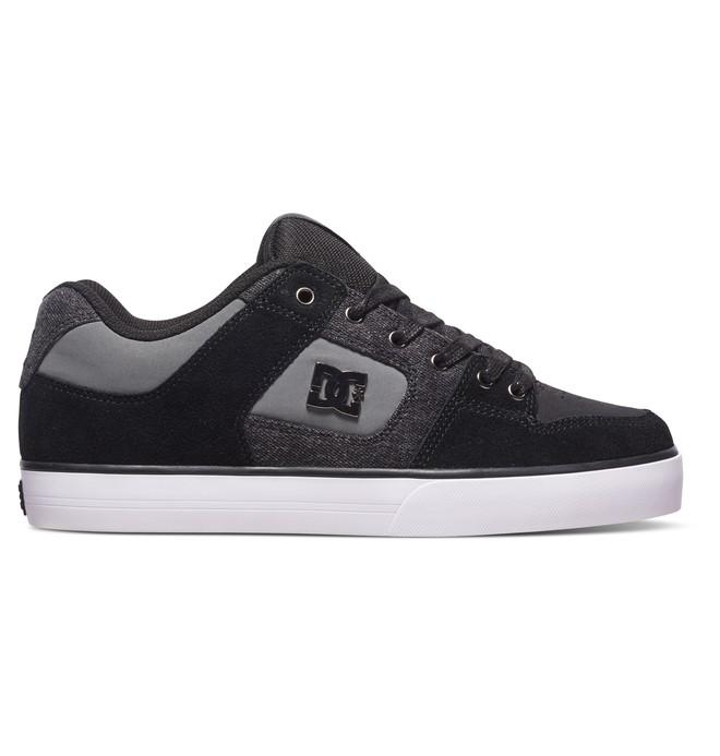 0 Men's Pure SE Shoes Grey 301024 DC Shoes