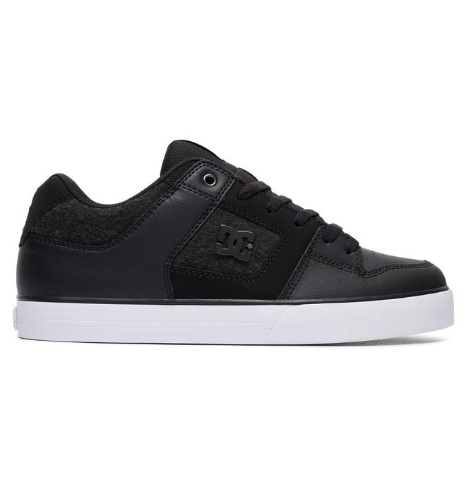 0 Men's Pure SE Shoes Black 301024 DC Shoes