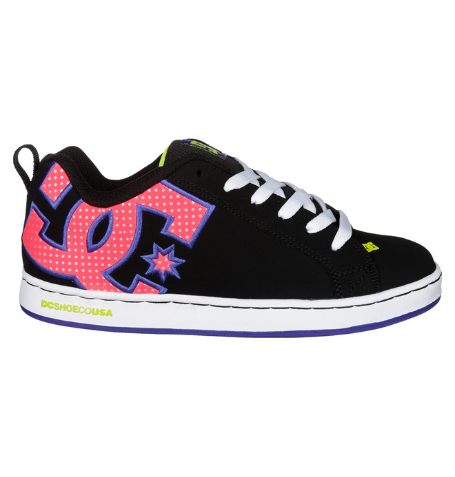 0 Women's Court Graffik SE Shoes  301043 DC Shoes
