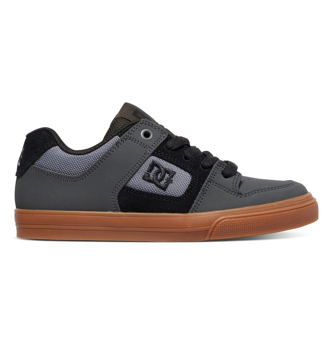0 Boy's 4-7 Pure Shoes Grey 301069A DC Shoes
