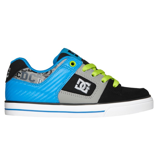 0 Boy's 4-7 Pure Shoes Blue 301069A DC Shoes