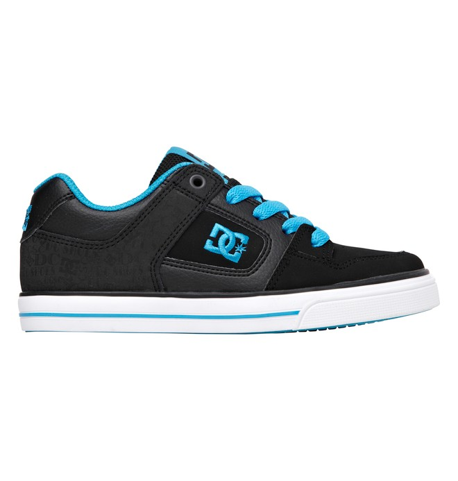 0 Boy's 4-7 Pure Shoes Black 301069A DC Shoes