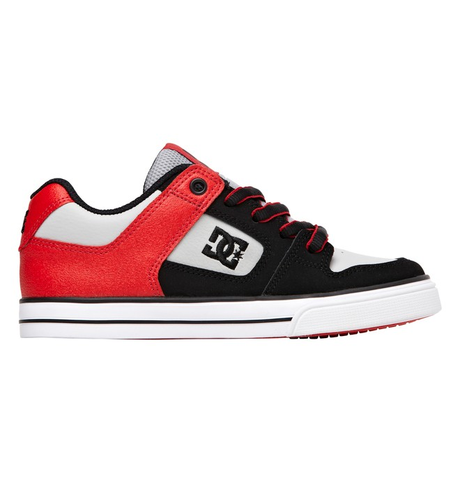 0 Boy's 4-7 Pure Shoes Red 301069A DC Shoes