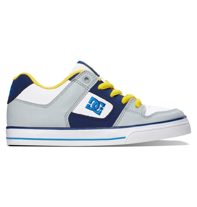 0 Boy's 4-7 Pure Shoes White 301069A DC Shoes