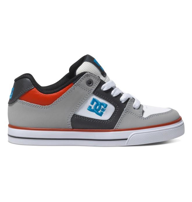0 Boy's 8-16 Pure Shoes Grey 301069B DC Shoes