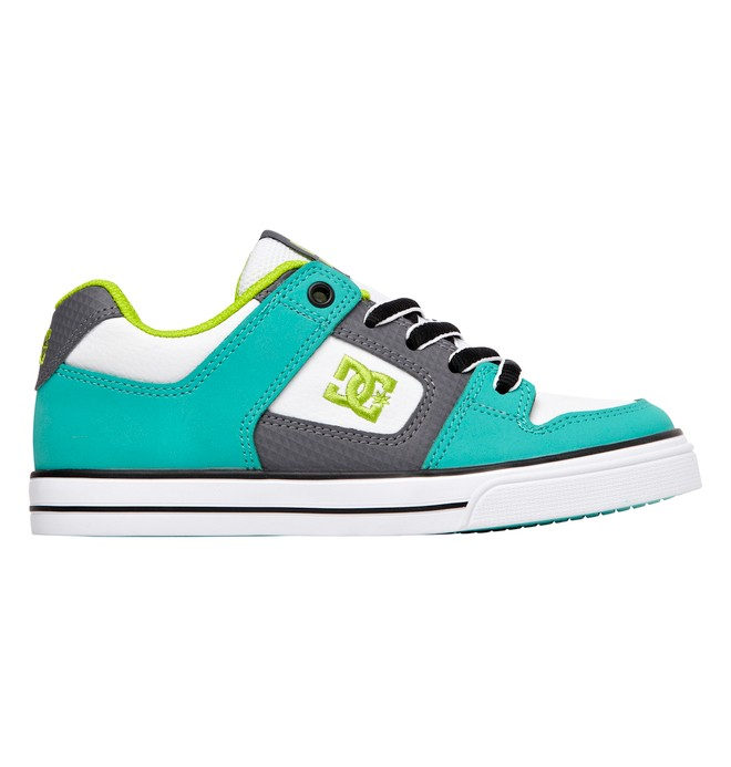 0 Boy's 8-16 Pure Shoes Blue 301069B DC Shoes