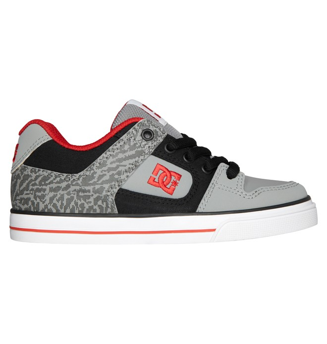 0 Boy's 8-16 Pure Shoes Black 301069B DC Shoes