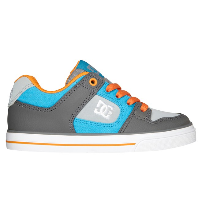 0 Boy's 8-16 Pure Shoes Orange 301069B DC Shoes