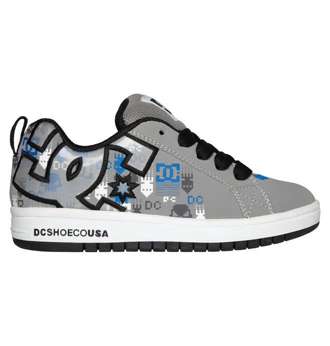 0 Kid's 4-7 Court Graffik SE Shoes Blue 301131A DC Shoes