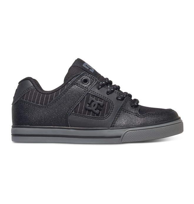 0 Boy's 4-7 Pure SE Shoes Black 301344A DC Shoes