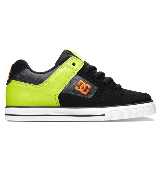0 Boy's 8-16 Pure SE Shoes Black 301344A DC Shoes