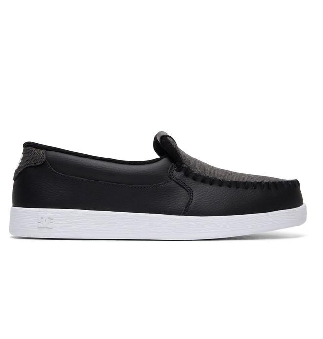 0 Men's Villain Shoes Black 301361 DC Shoes
