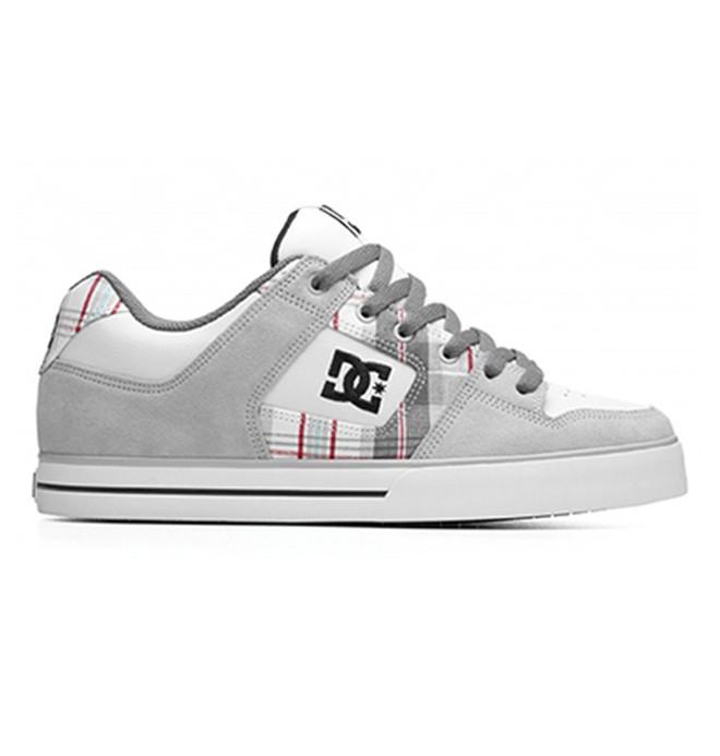 0 Men's Pure XE Shoes Grey 301722 DC Shoes