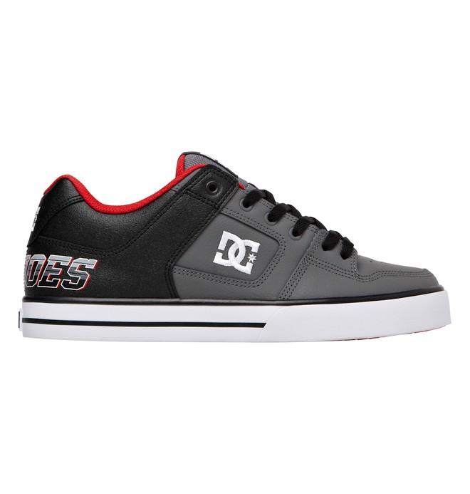0 Men's Pure XE Shoes Black 301722 DC Shoes
