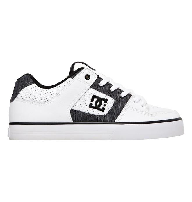 0 Men's Pure XE Shoes White 301722 DC Shoes