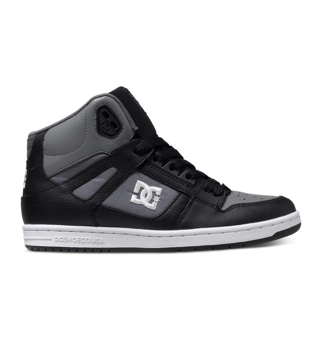 0 Women's Rebound High Shoes Black 302164 DC Shoes