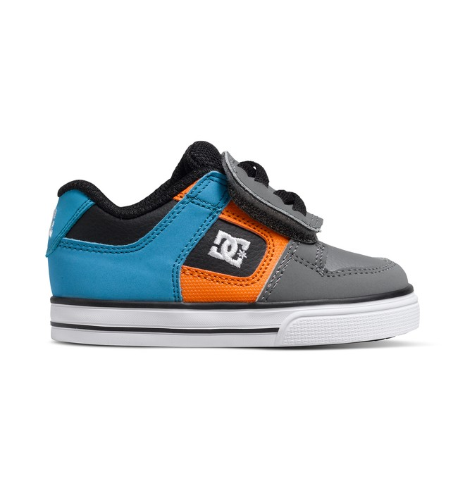 0 Toddler's Pure V Shoes Blue 302194 DC Shoes