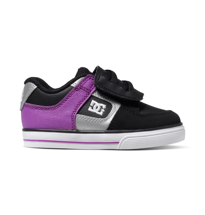 0 Toddler's Pure V Shoes Black 302194 DC Shoes