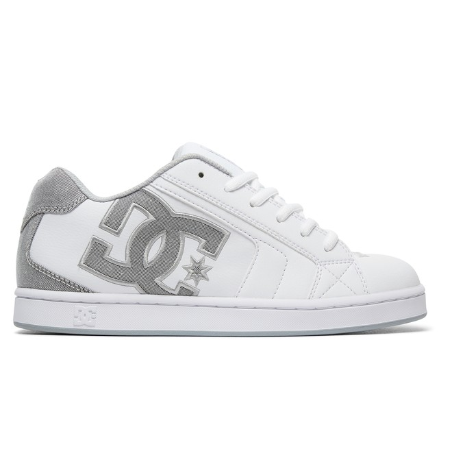0 Men's Net SE Shoes White 302297 DC Shoes