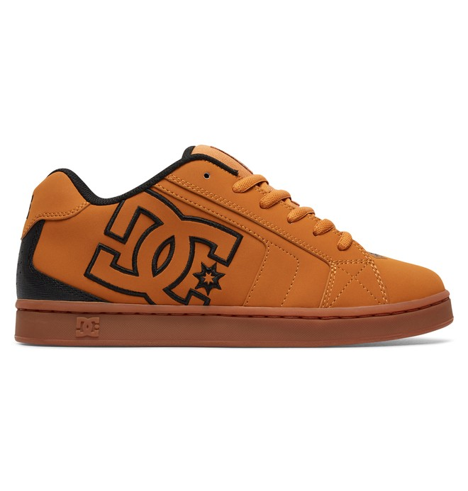 0 Men's Net Shoes Brown 302361 DC Shoes