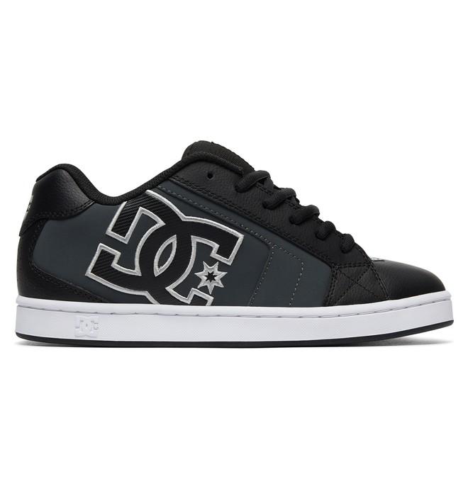 0 Men's Net Shoes Black 302361 DC Shoes