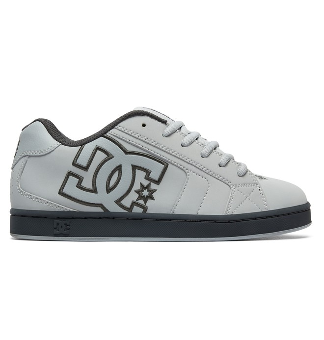 0 Men's Net Shoes Grey 302361 DC Shoes
