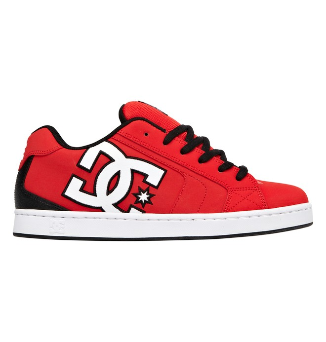 0 Men's Net Shoes Red 302361 DC Shoes