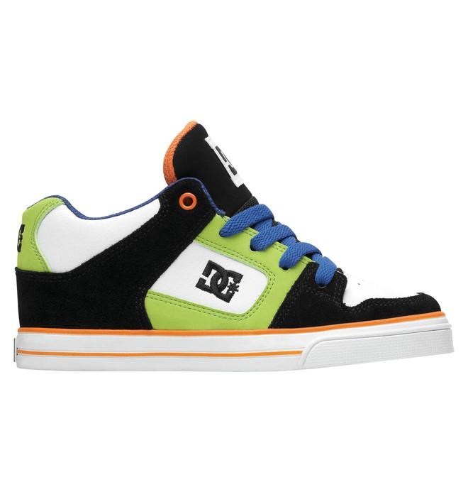 0 Kid's Radar Mid Shoes Black 302402A DC Shoes