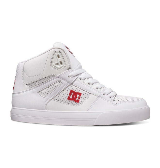 0 Men's Spartan WC High-Top Shoes White 302523 DC Shoes