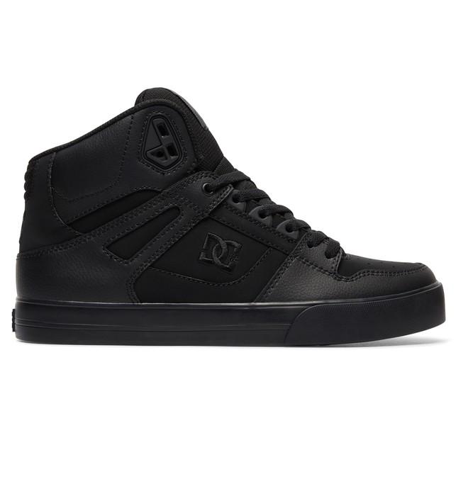 0 Men's Spartan WC High-Top Shoes Black 302523 DC Shoes
