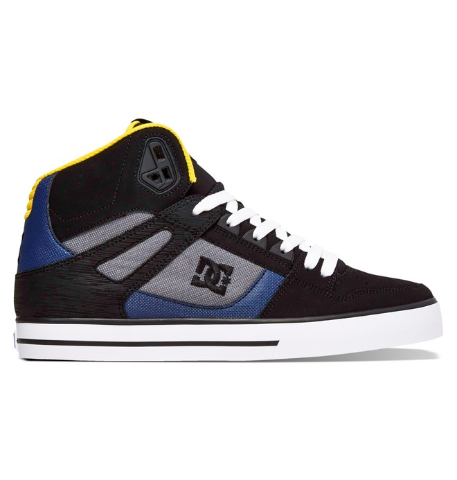 0 Men's Spartan WC High-Top Shoes Grey 302523 DC Shoes