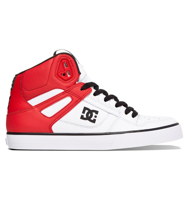 0 Men's Spartan WC High-Top Shoes Red 302523 DC Shoes