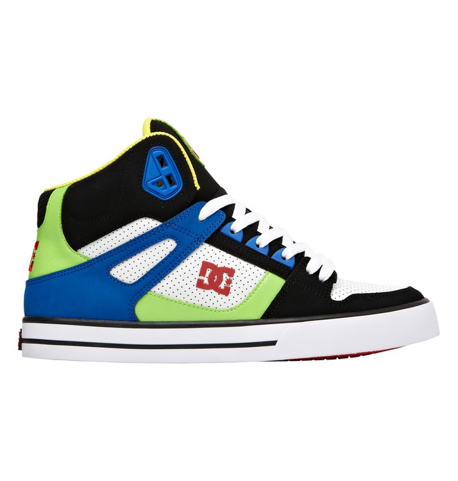 0 Men's Spartan WC High-Top Shoes Black 302523 DC Shoes