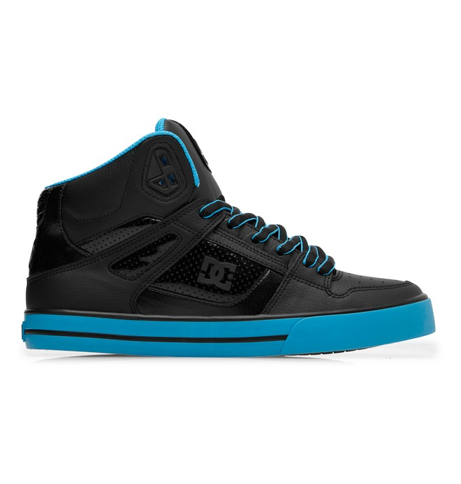 0 Men's Spartan WC High-Top Shoes Blue 302523 DC Shoes
